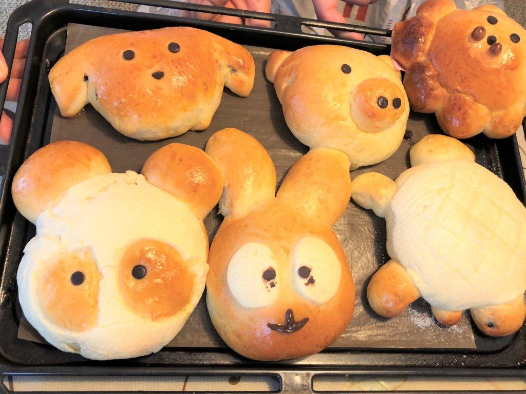 横浜・横須賀のパン&お菓子教室ルミエルの親子パンレッスン